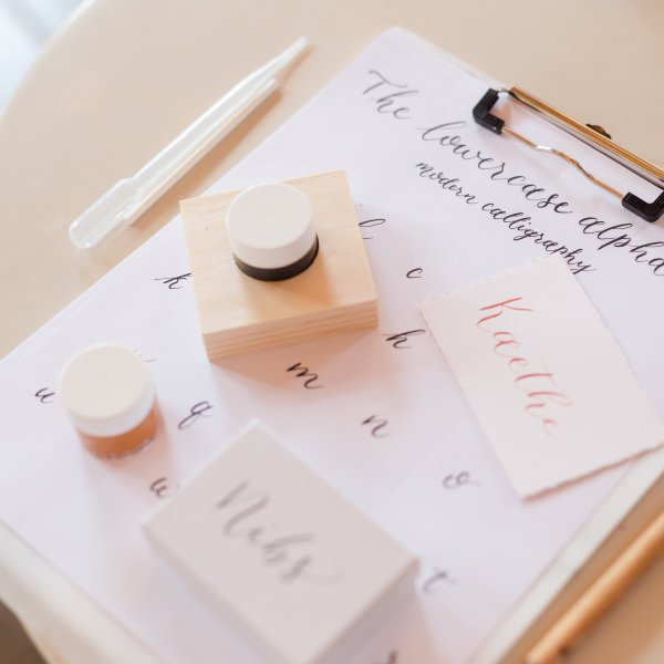 Modern Calligraphy Workshop By CalliRosa in San Antonio Calligrapher in San Antonio Texas Captured by Splendored Photography