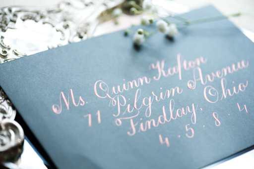 wedding etiquette 101 how to address envelopes by CalliRosa Calligrapher in San Antonio Texas