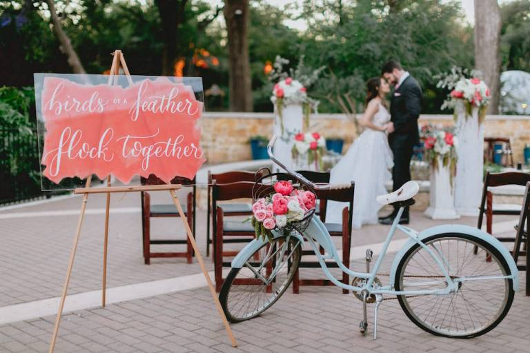 Summer Flamingo Styled Shoot at the San Antonio Zoo blog by CalliRosa Invitations Calligrapher in San Antonio
