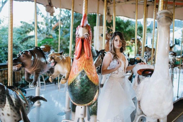 Summer Flamingo Styled Shoot at the San Antonio Zoo blog by CalliRosa Invitations Calligrapher in San Antonio