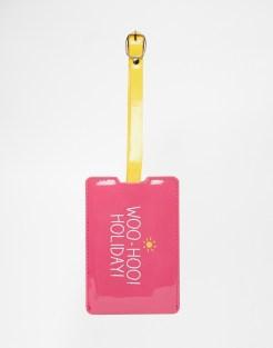 Etiquette à bagage rose, Happy Jackson, 9,99 euros