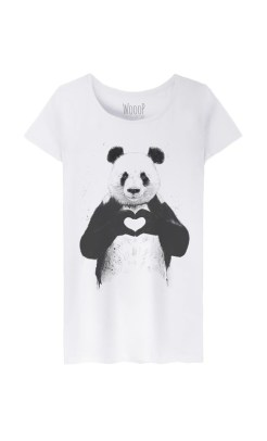 T-shirt love Panda, Wooop, 23,90 euros