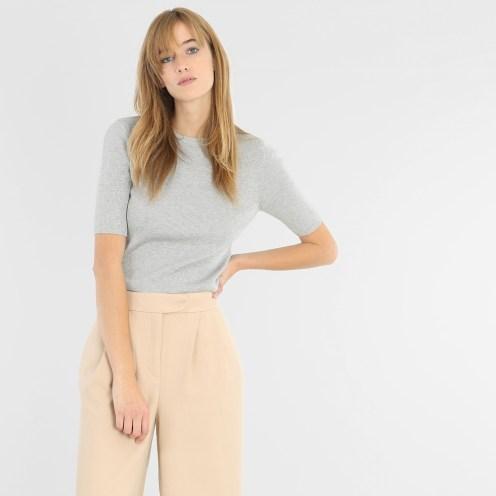 T-shirt fines côtes, Pimkie, 17 euros