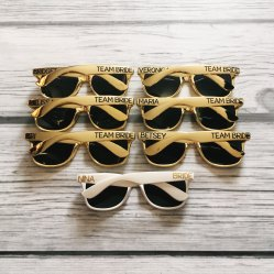 Lunettes de soleil personnalisées, TheCraftyEngineerx, 7,17 euros