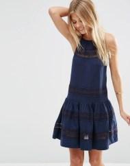 Mini robe d'été en coton, Asos, 43 euros