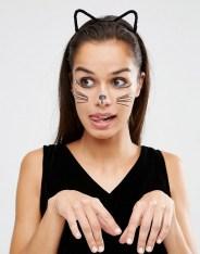 Tatouage pour le visage motif chat, NPW, 5 euros