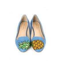 Ballerine BECCA Bleu, Mellow Yellow, 119 euros