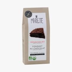 Préparation bio sans gluten pour fondant au chocolat, 12,15 euros, Marlette