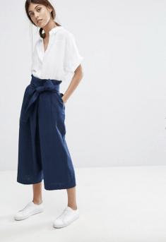 Pantalon portefeuille taille haute Tilda, 171,99 euros, Whistles
