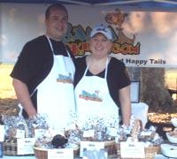 Bama Barkery owners Michael and Johnna Mathews (photo by Alisha Bamberg)