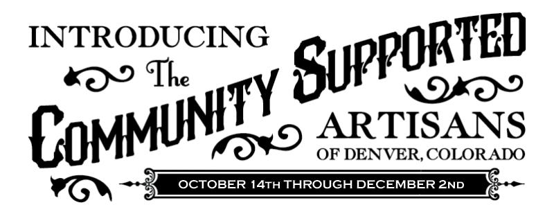 Community Supported Artisans (CSA) Logo