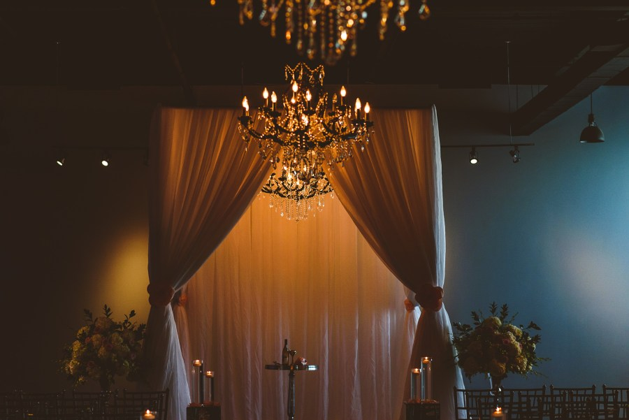 Jewish Ceremony Details at The Warehouse