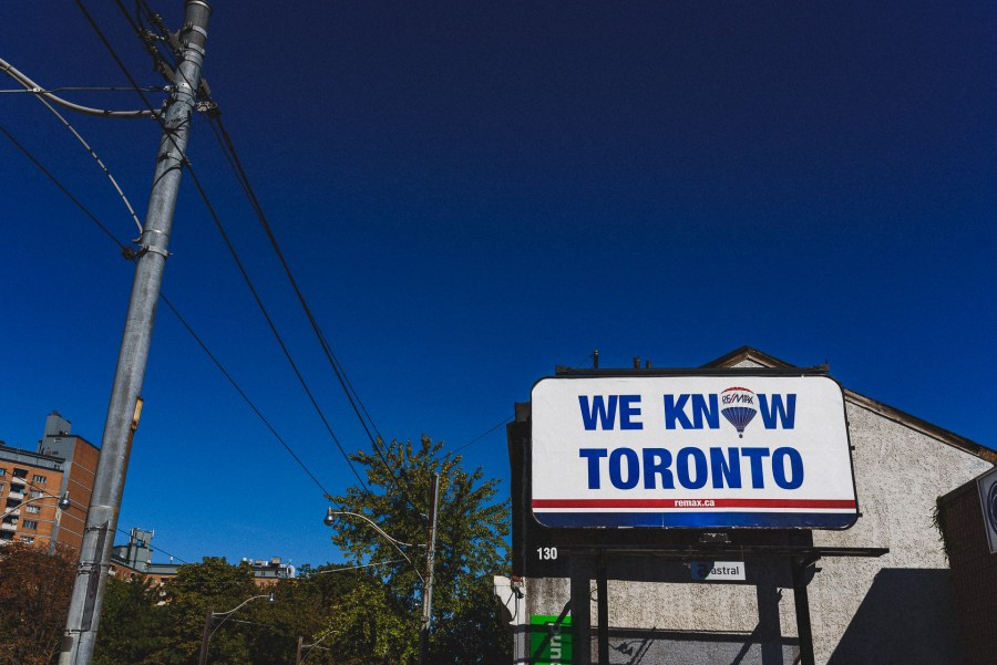 Funny Toronto Sign