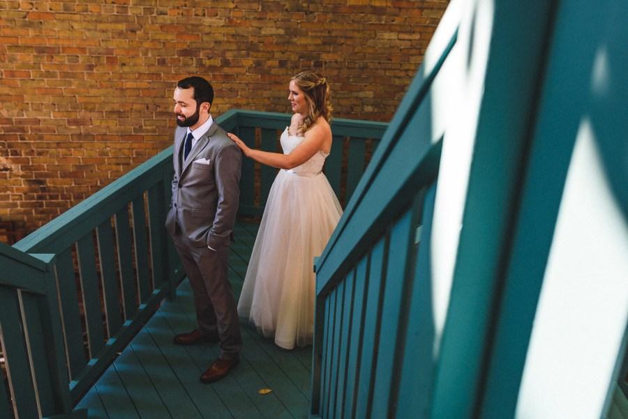 first look at berkeley field house wedding