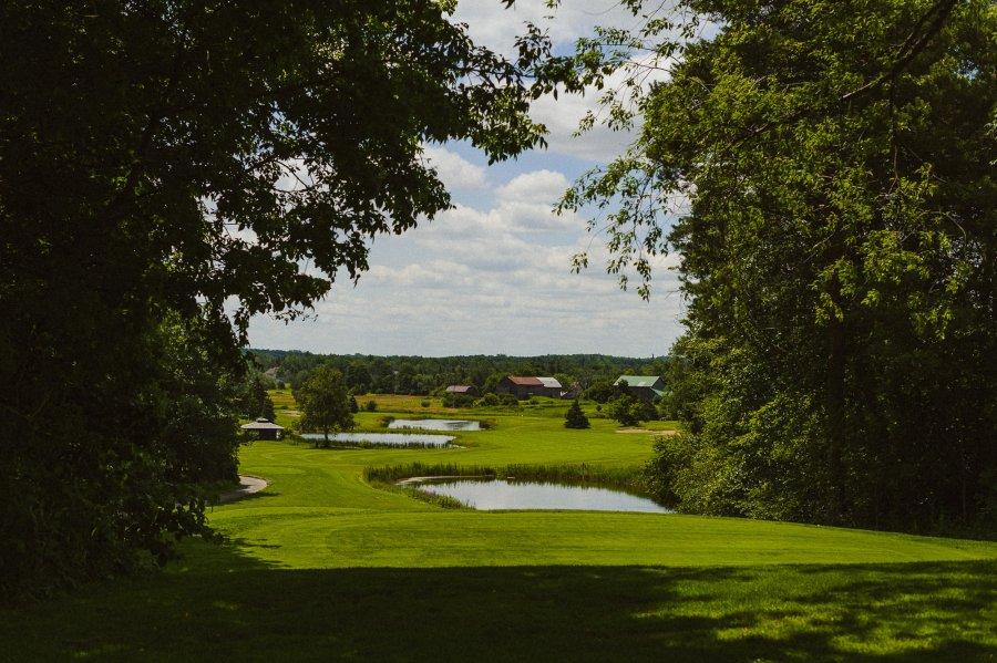 Pheasent Run Golf Course Wedding