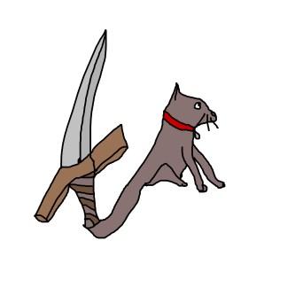 cat sword