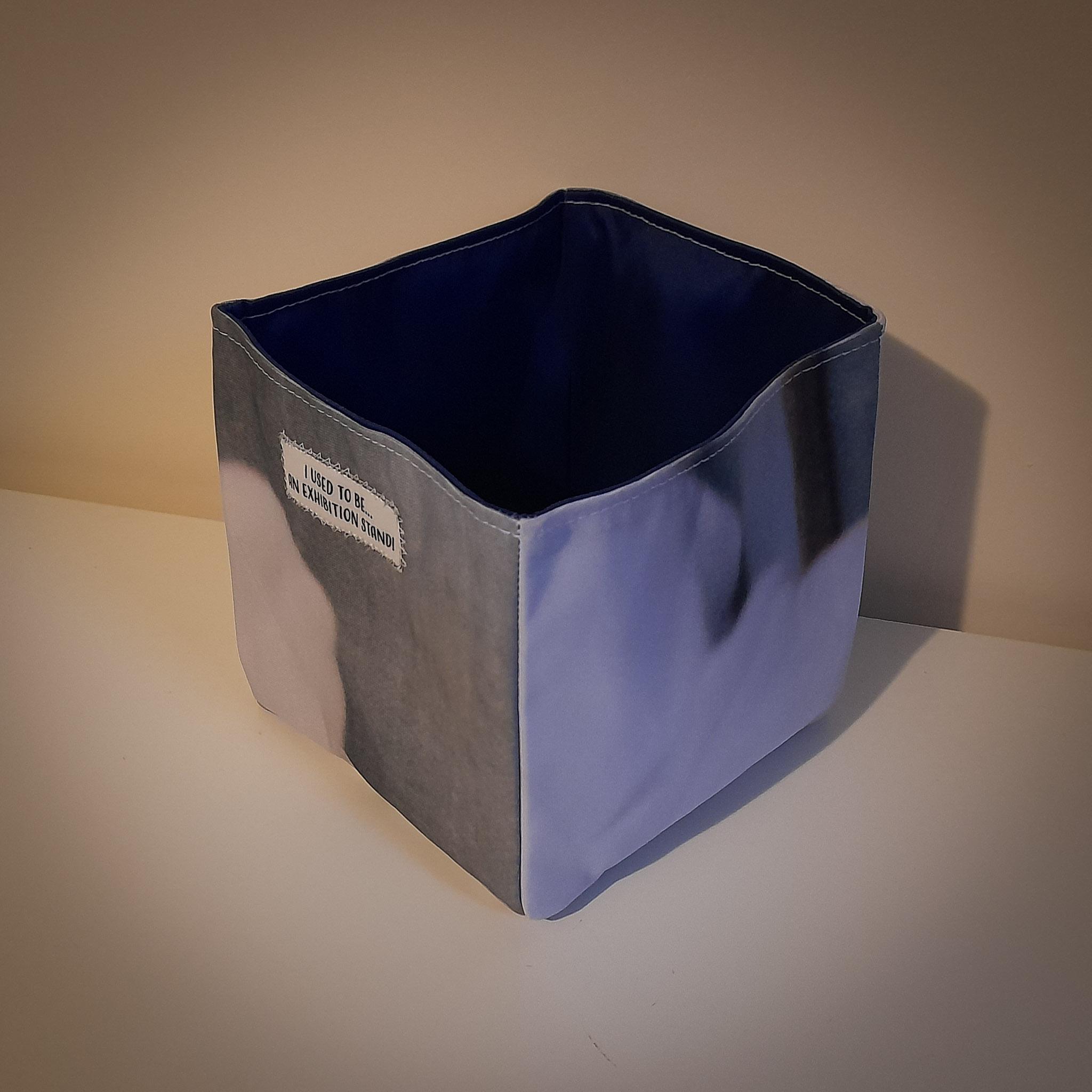 Fabric Storage Box… Light & Dark Grey