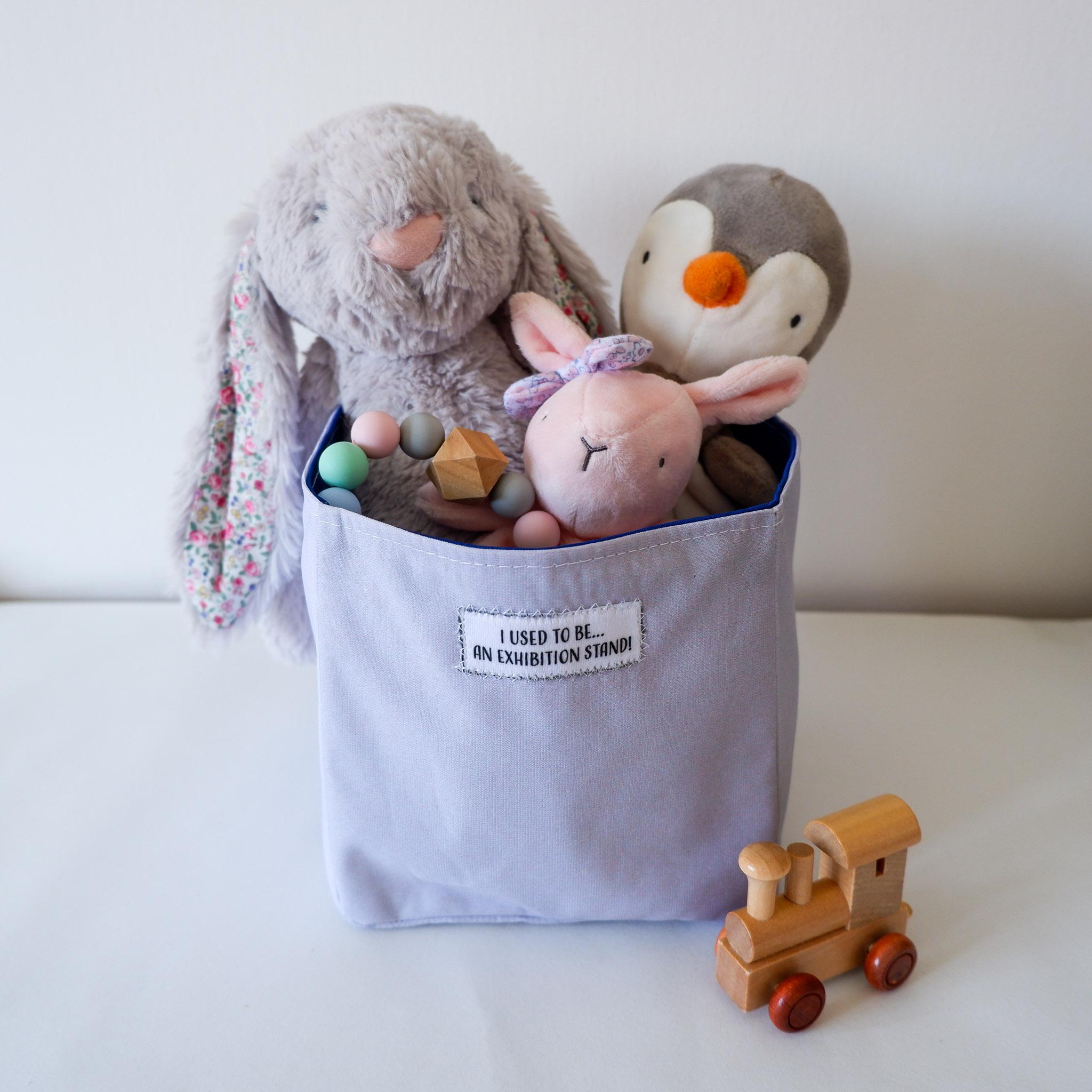 Fabric Storage Box… Grey