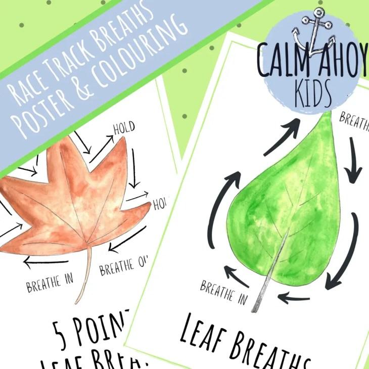 Leaf Breaths - Mindful Breathing for Kids