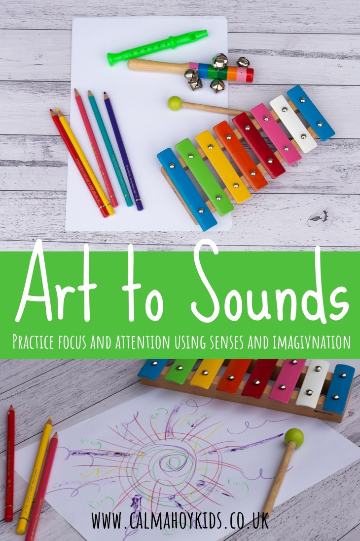 Art to Sounds - Mindful Art Activity for Kids