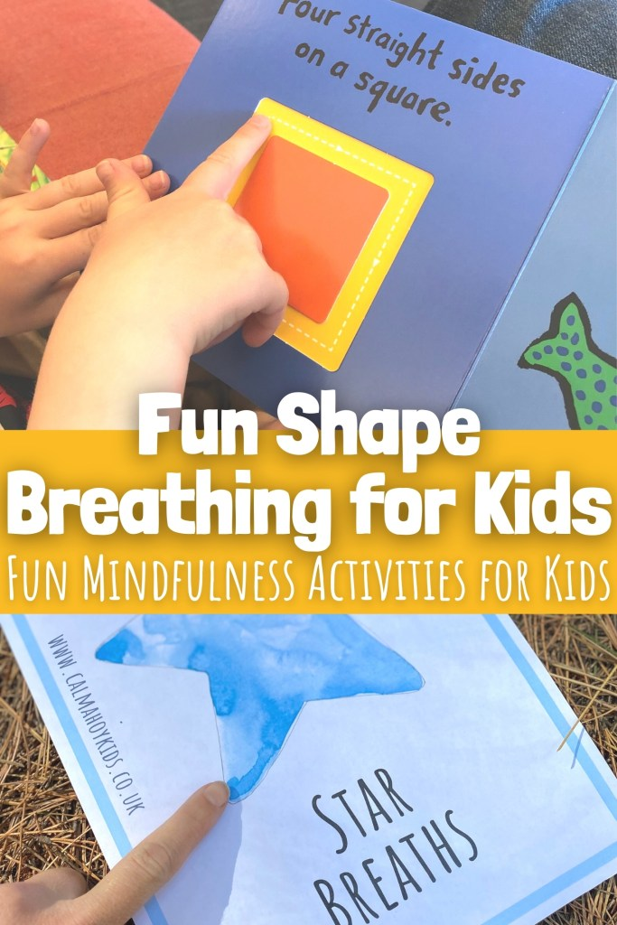 Fun Shape Breathing for Kids - Mindfulness Activities