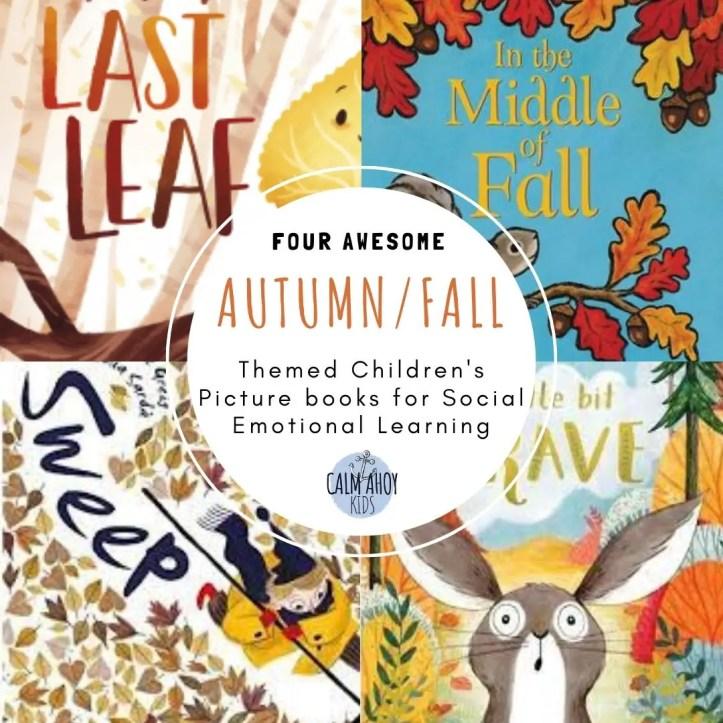 Calming activities - reading Autumn books