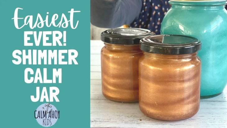 Easiest Ever shimmer calm Jar