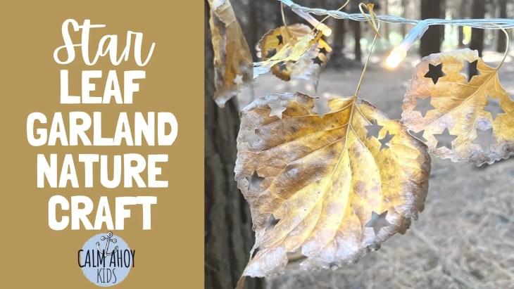 Star Leaf Garland Nature Craft