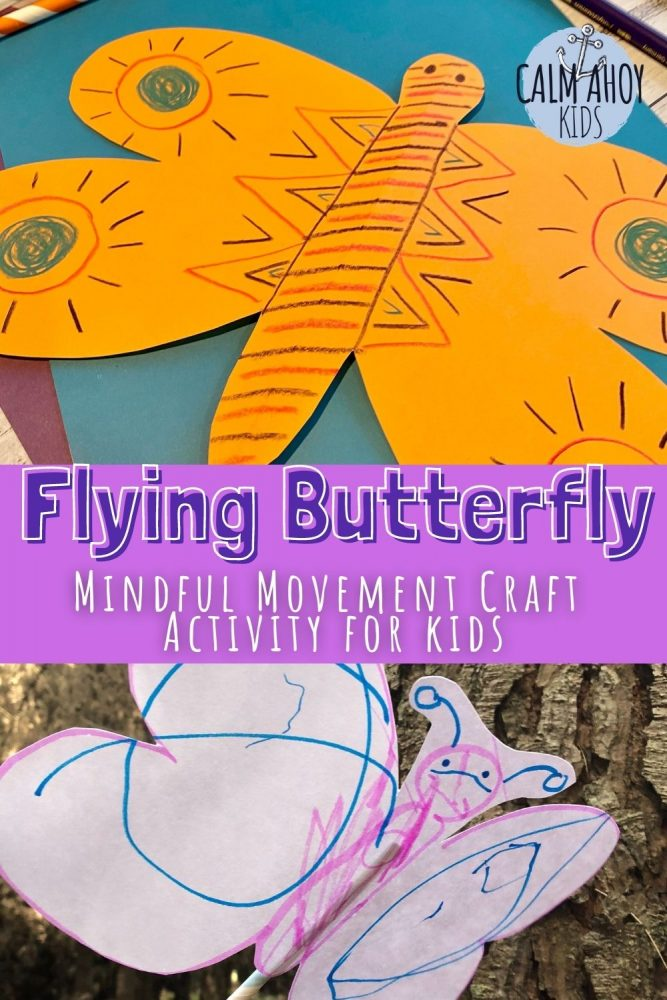 Calming Paper Butterfly Activity for Kids