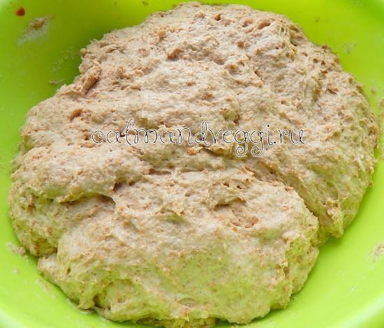 Дрожжевое тесто с отрубями рецепт с фото