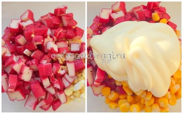 Вегетарианские крабовые палочки рецепт с фото