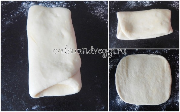 быстрое слоеное тесто без яиц рецепт