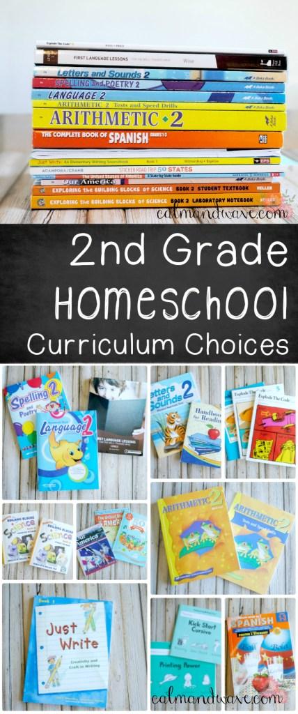 Second Grade Homeschool Curriculum choices A Beka Curriculum Math, Science, Reading, Spanish