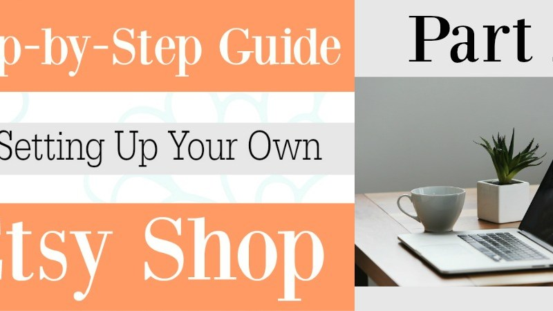 Part 2 Setting up your Etsy shop | Cover photo, shop icon, profile and product picture recommended sizes