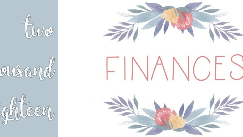 Financial Planner 2018 | Transaction List | Payment Tracker | Monthly Budget | Check Off Bills
