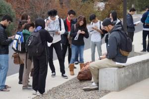 UC Davis students, photo by Katie Hetrick via Flickr