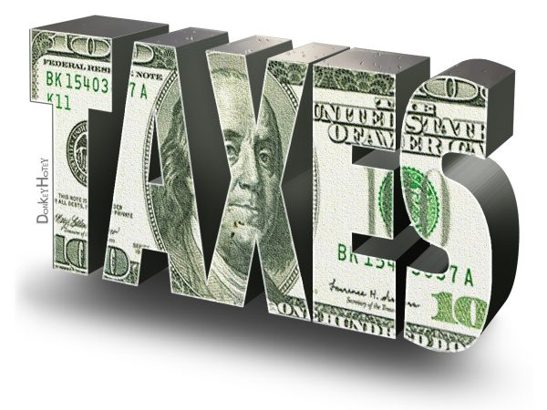 Income taxes are 70 percent of California's general-fund revenue. Image via Flickr