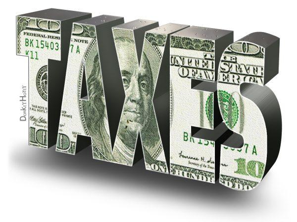 Income taxes are 70 percent of California's general-fund revenue. Image via Flickr