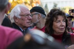 RoseAnn DeMoro is closely aligned with Vermont Sen. Bernie Sanders.
