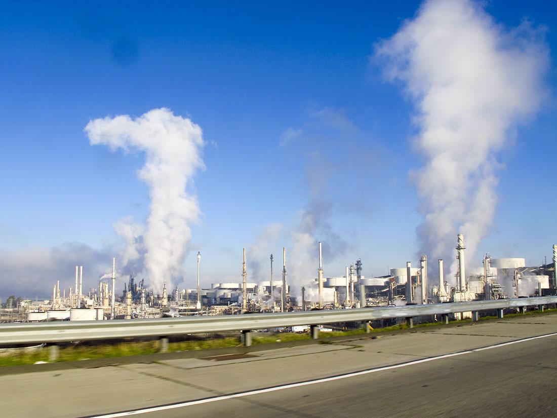 ConocoPhillips oil refinery in Rodeo, California