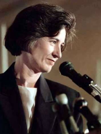 Kathleen Brown during her unsuccessful 1994 bid for governor. Photo by John Trotter, Associated Press