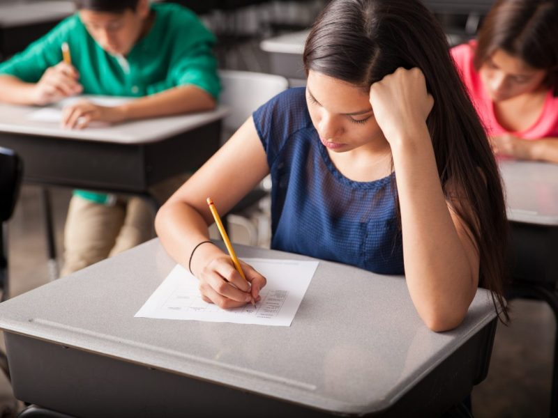California test scores regressed this year for 11th graders.