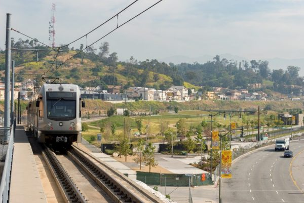 Anti-poverty advocates say there is no consistent California transportation safety net to help struggling residents afford reliable transit. Photo via Metro-Los Angeles/Flickr.