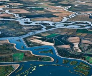 California's Central Valley Water Project. Photo courtesy of U.S. Bureau of Reclamation