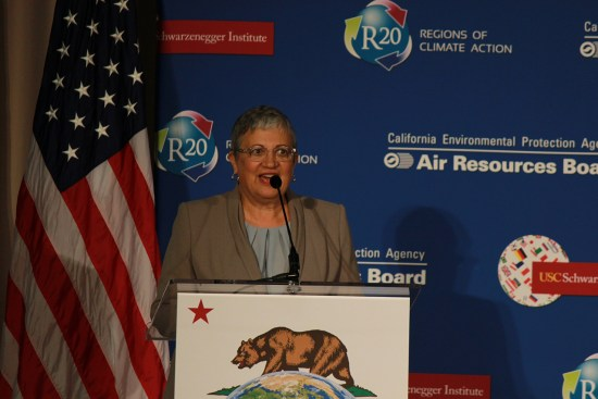 Air board chief Mary Nichols. Photo by California Air Resources Board