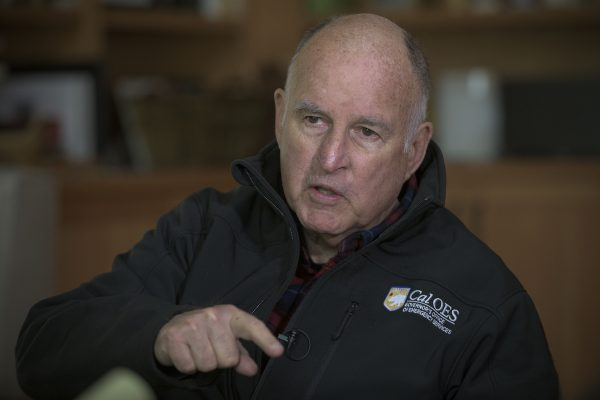 Photo of former California Gov. Jerry Brown