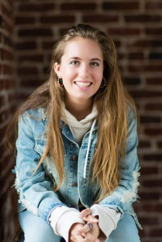 """Christine Marie Frey, 18, attended an early psychosis program in San Diego after she began to hear demons as a 12-year-old. She's the author of """"Brain XP: Living with Mental Illness, A Young Teenager's Perspective""""(Family photo)"""