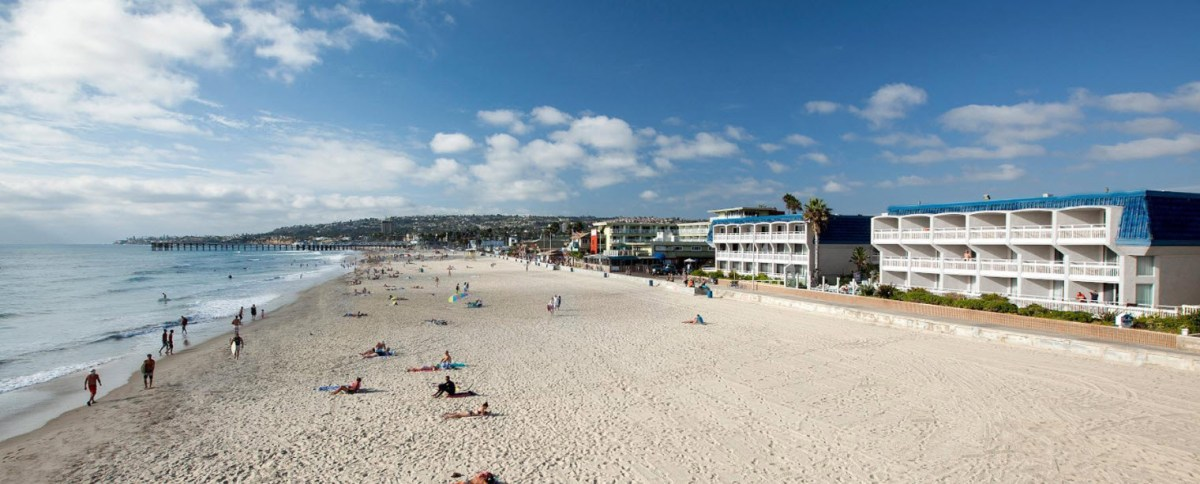 photo of San Diego beach