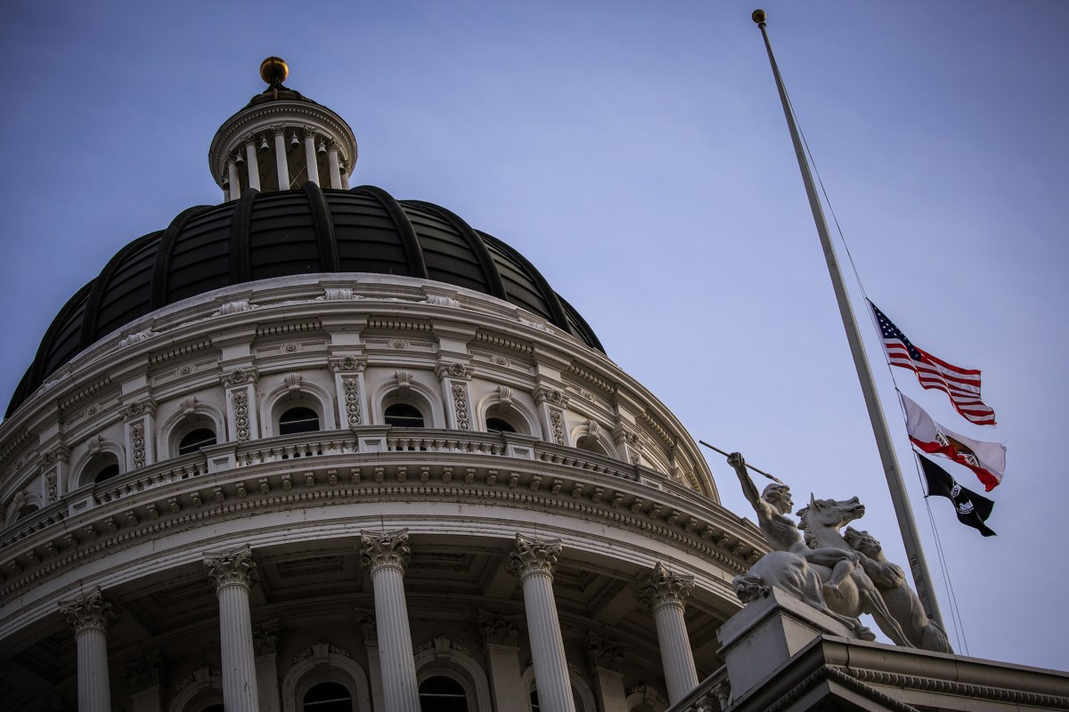 The California State Capitol on December 3, 2018 in Sacramento, California.