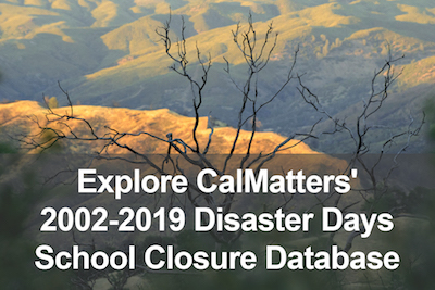 Disaster Days School Closures California Database A scorched dead tree killed by wildfires in recent years around the town of Clear Lake, Calif., Friday, June 7, 2019.